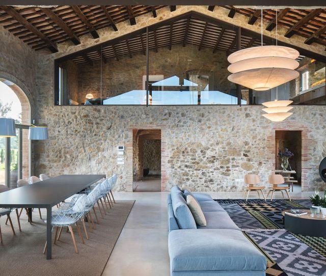An Impressive Restoration Turned This  Farmhouse Into A Sleek Contemporary Home Photos By Lucas Fox Via The Spaces