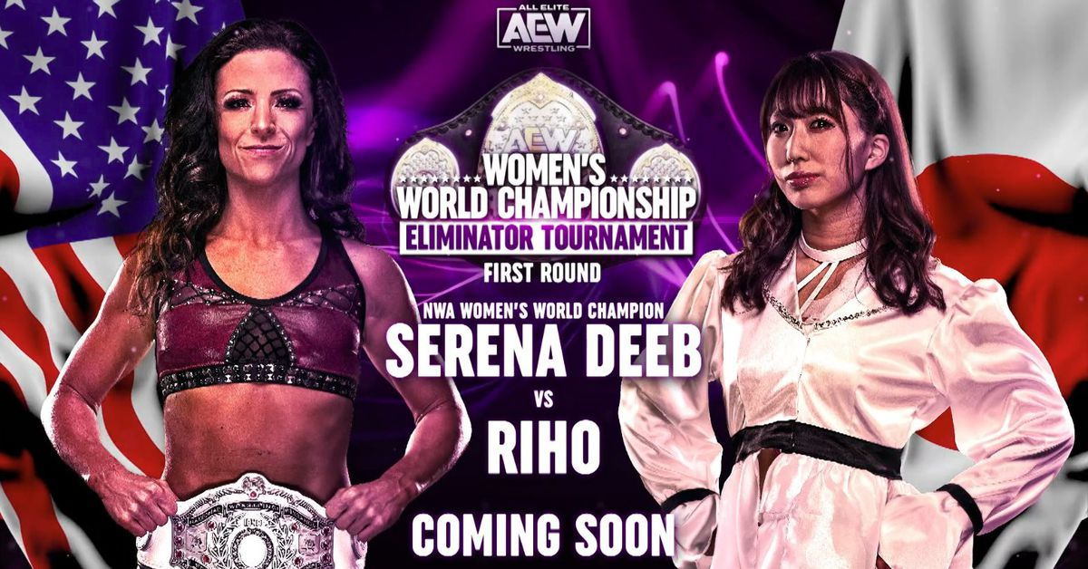 Riho is returning for the AEW women's tournament