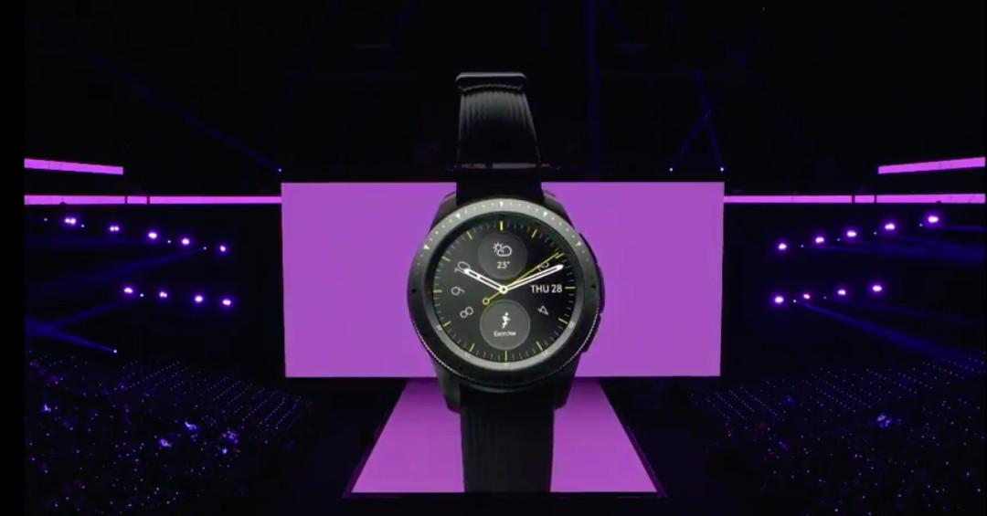 Samsung Unveils Its Latest Smartwatch The Galaxy Watch