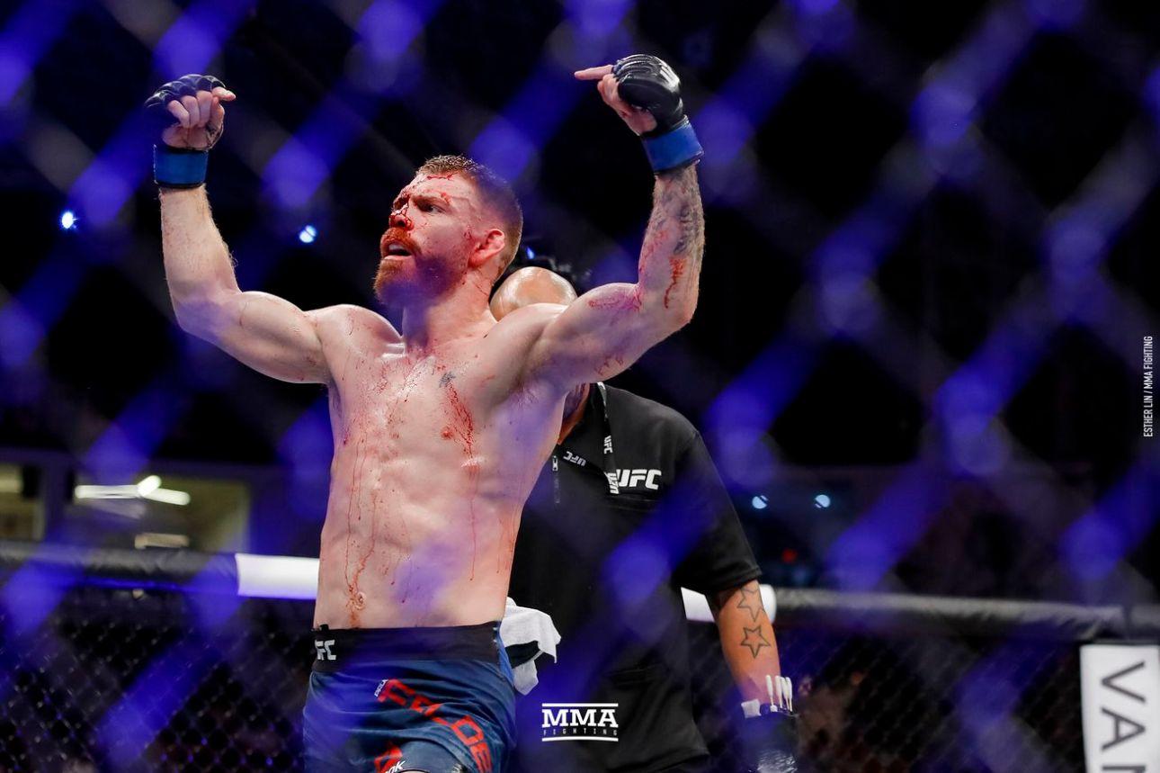 Paul Felder will work as a commentator instead of Daniel Cormier for UFC 263
