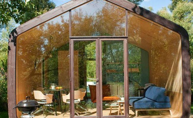 Tiny House Built Of Cardboard Wikkelhouse Makes It Work