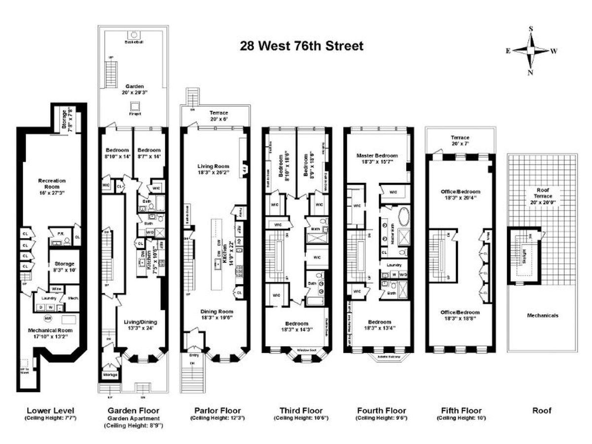 Upper West Side Townhouse Returns Seeking 12m More Than A