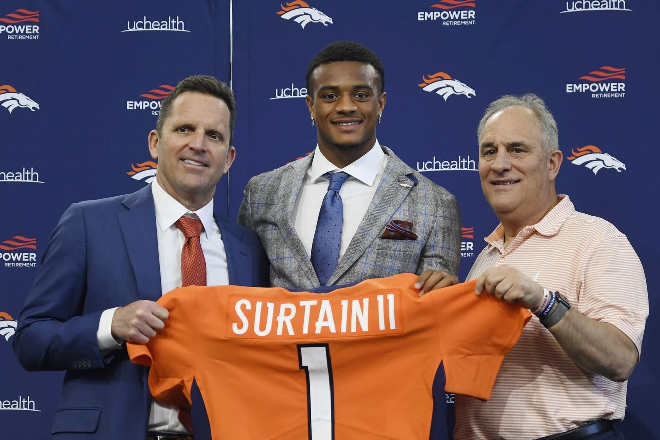 Denver Broncos First Round Draft Pick