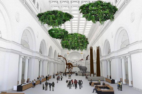 Flying Reptiles Hanging Gardens Accompany Titanosaur