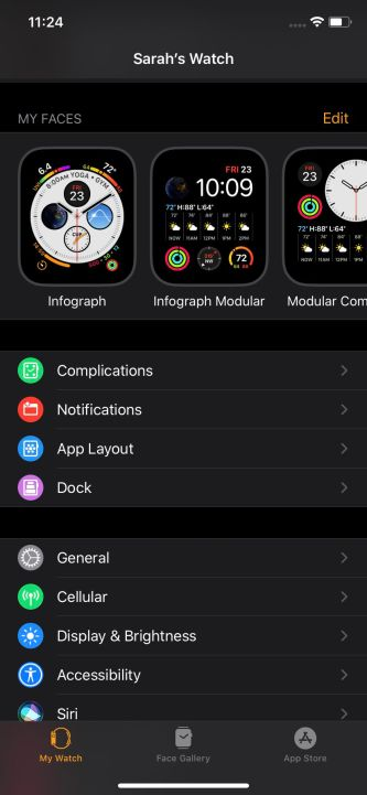 Screenshots on Apple Watch