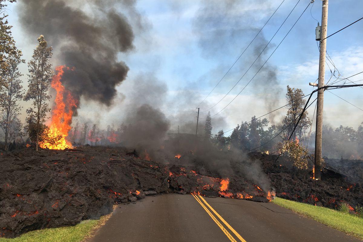 Hawaii Volcano Eruption Kilauea Is Spewing Lava And Toxic Gas