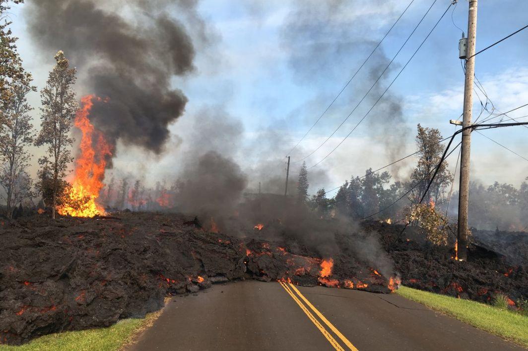 Hawaii's Recent Volcanic Eruption