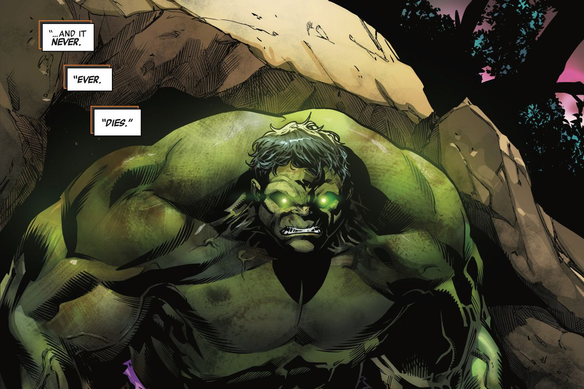 immortal hulk 1 brings