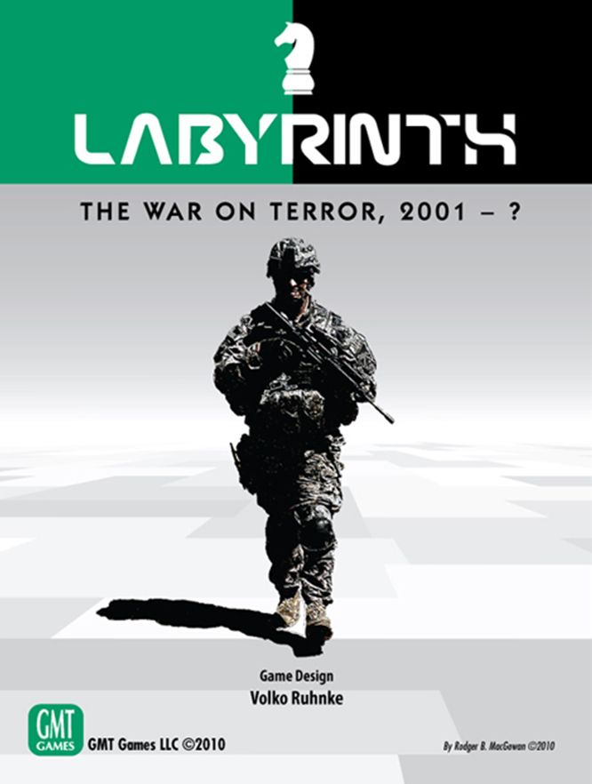 Labyrinth: The War on Terror, 2001 – ?, tabletop, board games, GMT Games, Volko Ruhnke