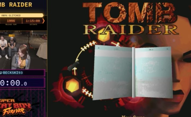 Speedrunner Doubles Her Twitch Audience With Tomb Raider S