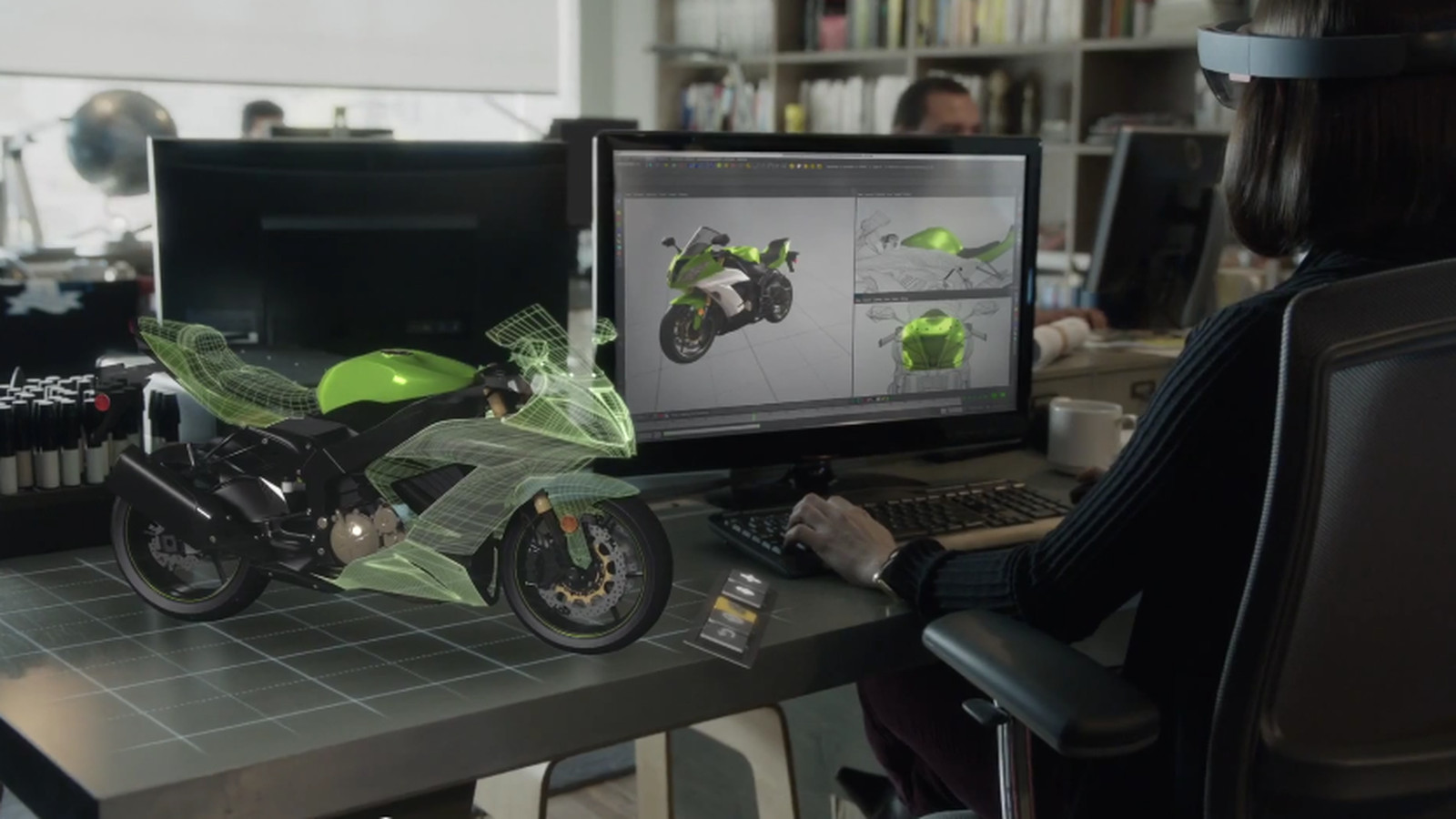 Microsofts HoloLens team is obsessed with motorcycles