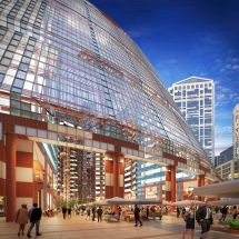 Saving Thompson Center Jahn Plan Visualized In