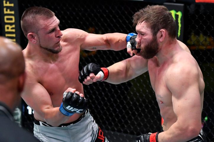 Living by the sword, dying by the sword - it is the Ion Cutelaba way   UFC Fight Night 192: Smith vs Spann