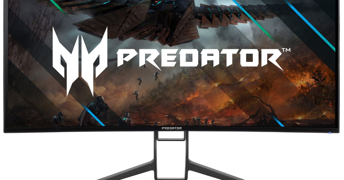 Acer announces several new, slim-bezeled gaming monitors