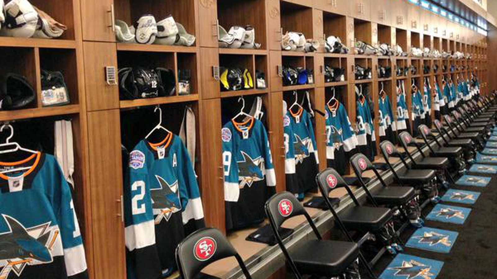 Here S What The Transformed 49ers Locker Room Looks Like
