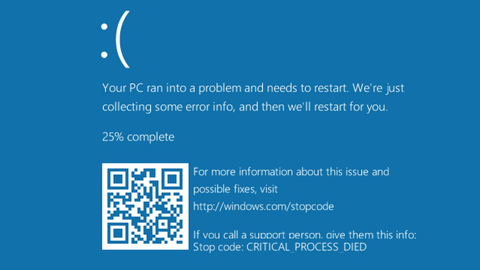 Quote Wallpaper Drive Microsoft Adds Qr Codes To The Windows 10 Blue Screen Of