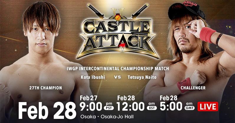 Castle Attack results: Ibushi vs. Naito