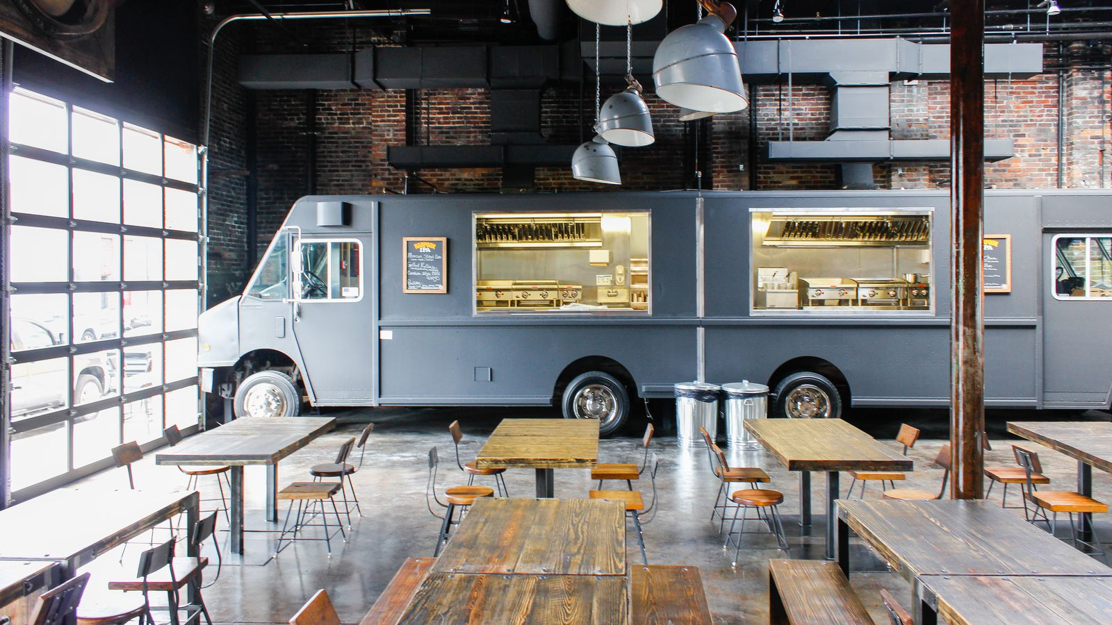 Settle Onto a Patio and Eat From Indoor Food Trucks This Friday at Coppersmith  Eater Boston