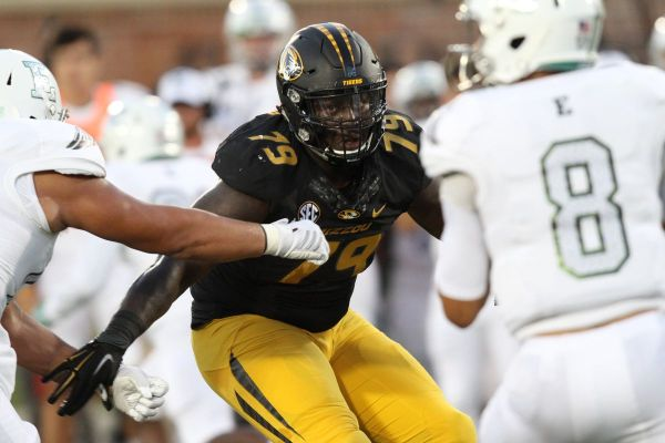 Missouri Ceiling Defensive Tackle High In