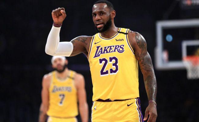 Lakers Vs Cavaliers Final Score Lebron James Makes