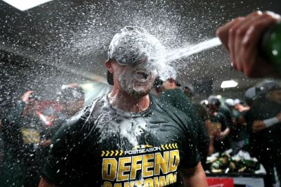 Oakland A's clinch 2018 Wild Card berth - Athletics Nation