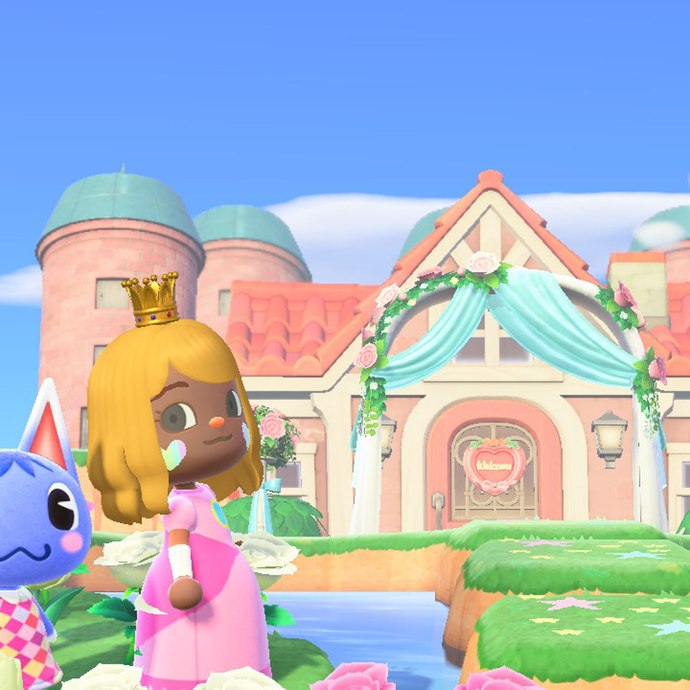 Animal Crossing New Horizons Fans Transform Islands Into Castles Polygon