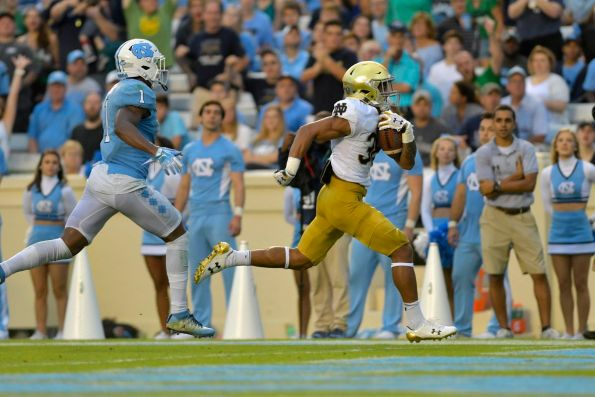 UNC Football: Highs and Lows vs. Notre Dame - Tar Heel Blog
