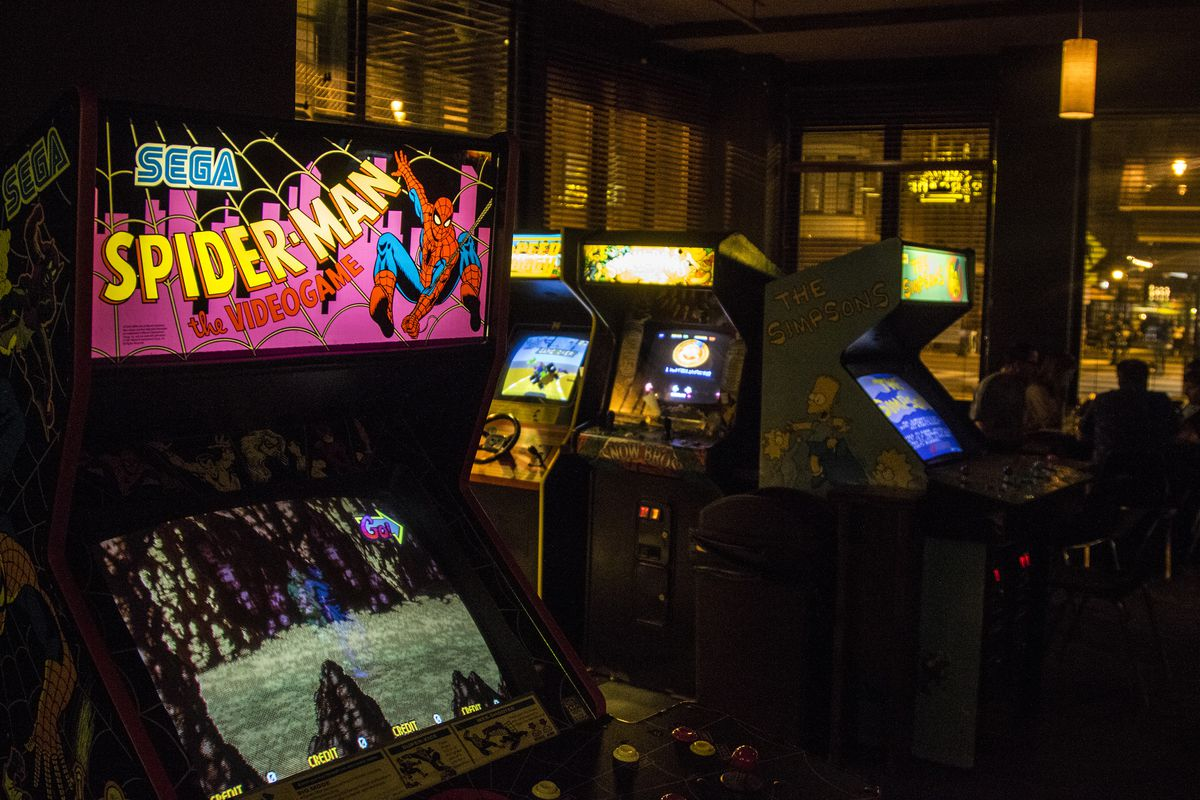 How Arcade Bars Became Boozy Playgrounds for Adults  Eater