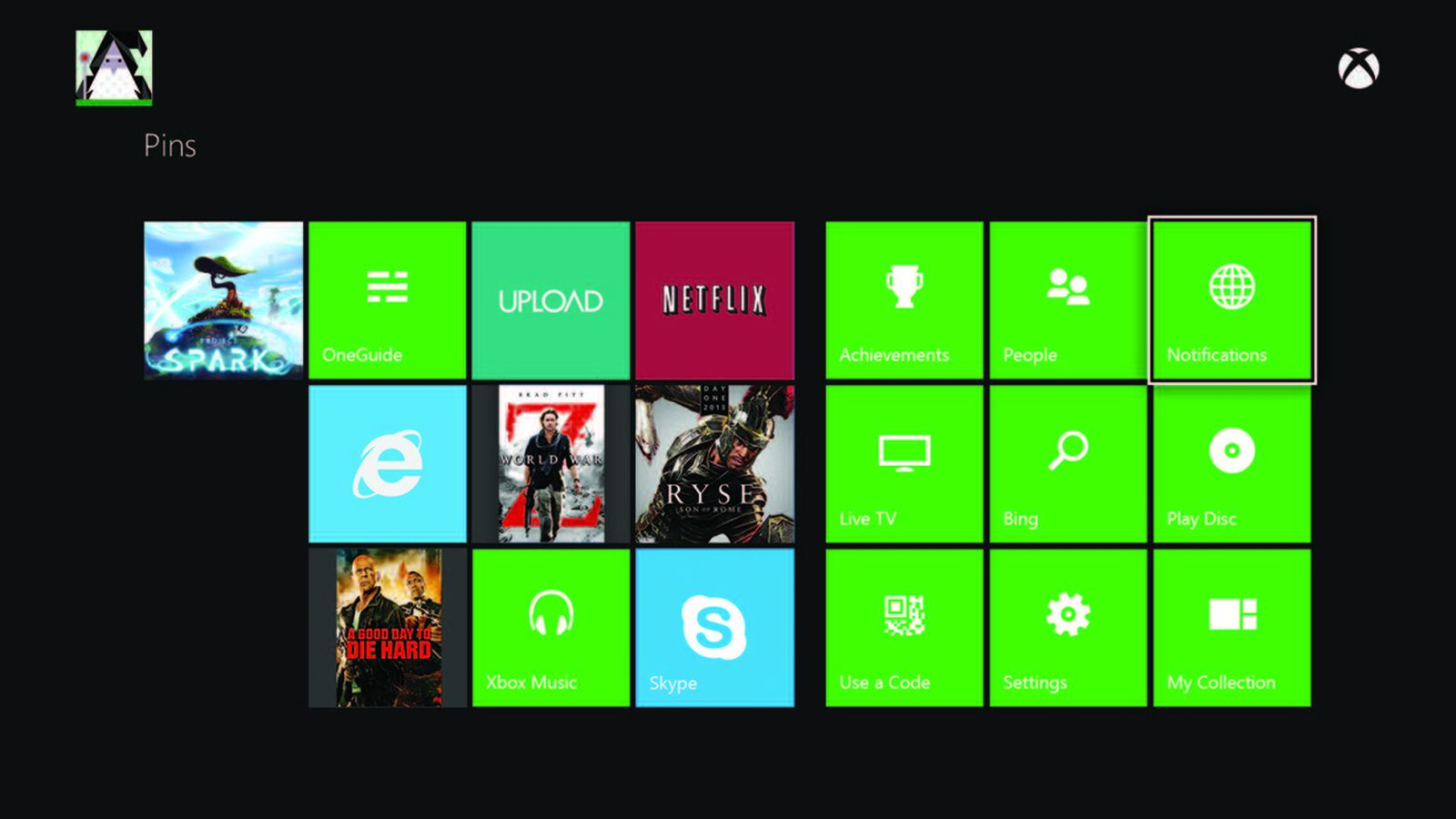 Xbox Ones Recents Home Screen Based On 360 Users