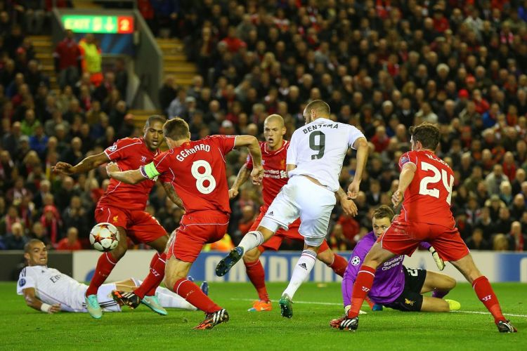 Liverpool 0, Real Madrid 3 Match Report: Misery at Anfield ...