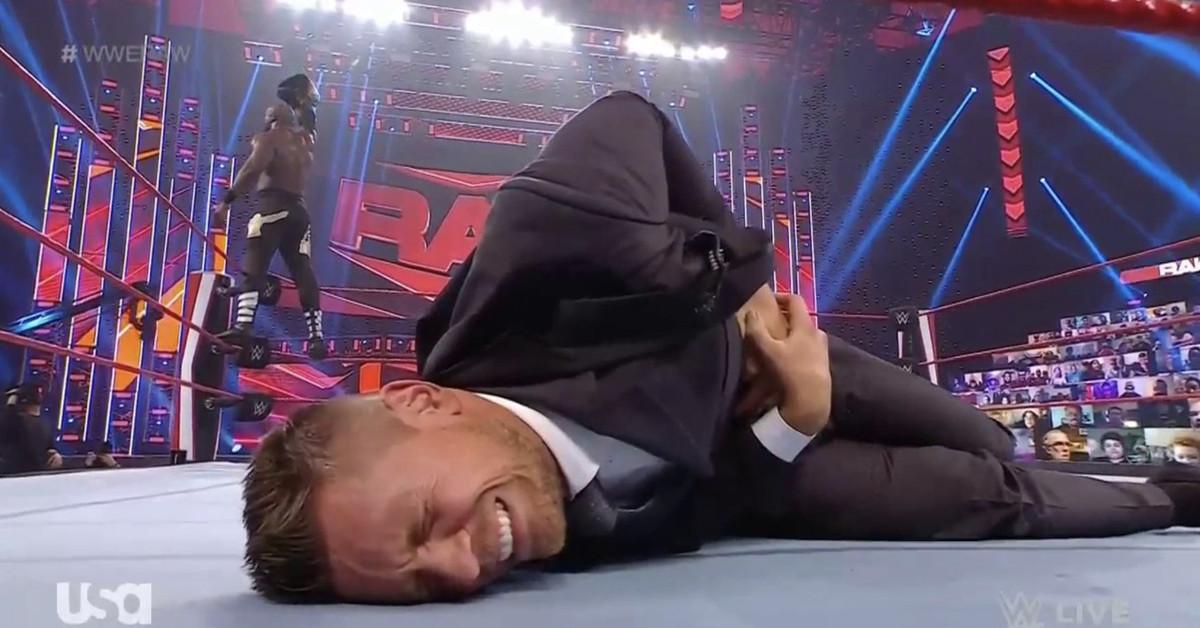 Bobby Lashley vs. The Miz WWE title match set for Raw next week