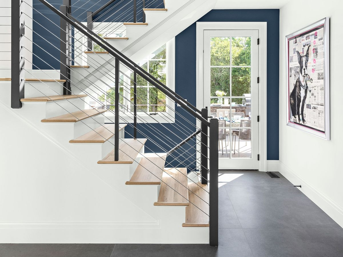 Stairs This Old House | Opening Up Basement Stairs | Underneath | Landing | Living Room | Wall | Basement Above