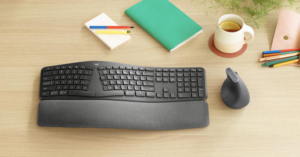 Logitech's new Ergo K860 split keyboard expands its ergonomic range of accessories