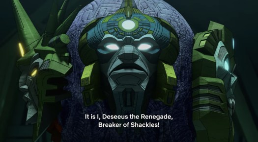 Deseeus the Renegade from Transformers: Earthrise