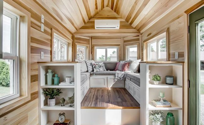 Tiny House Comes With A Conversation Pit Sort Of Curbed