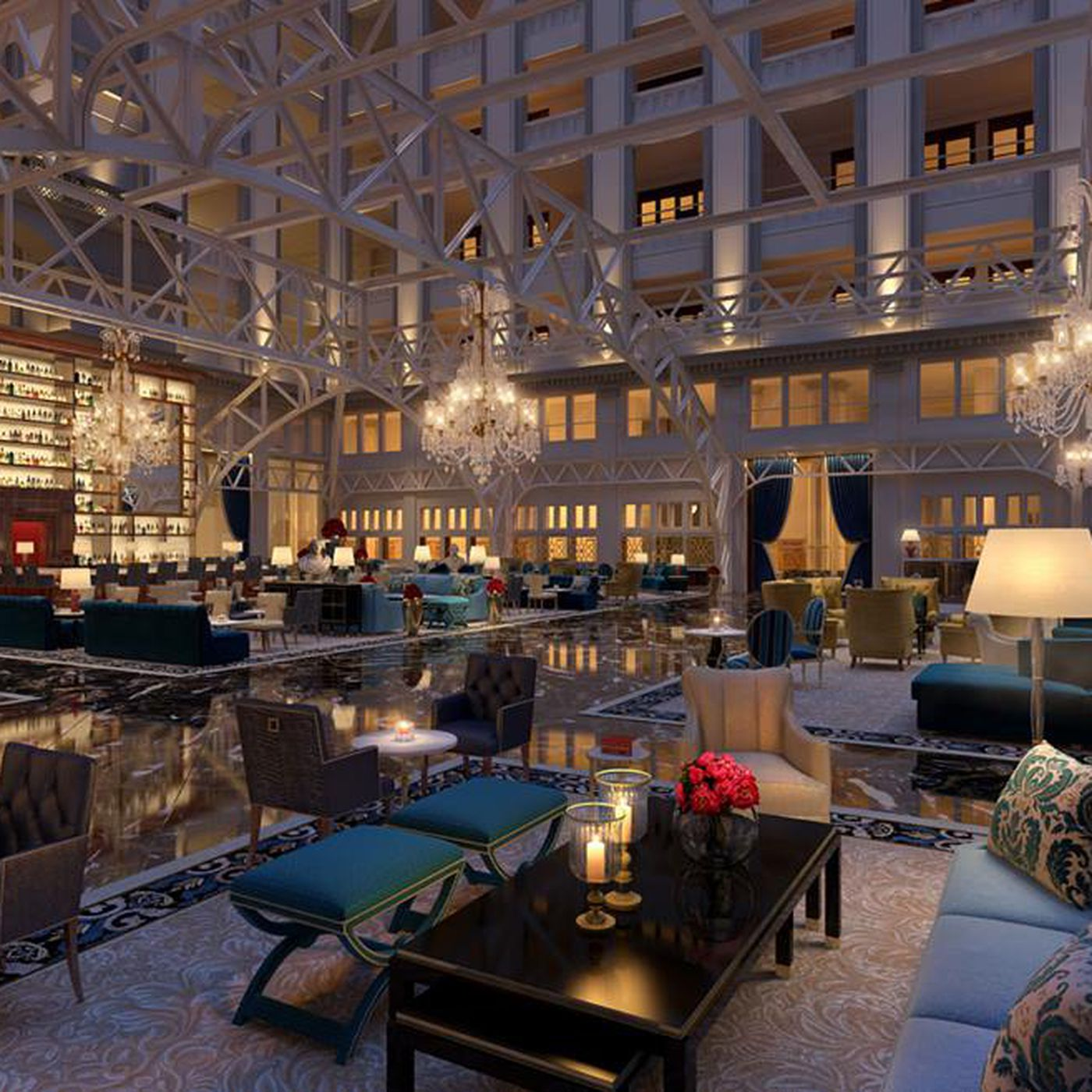 Find 27 Tots And Hipster Fries At The Trump Hotel S Lounge Eater Dc