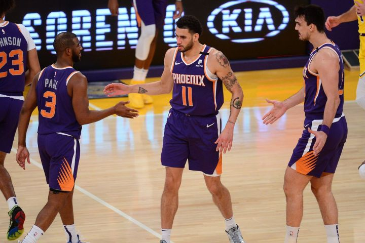 Suns surging behind contributions from unexpected places