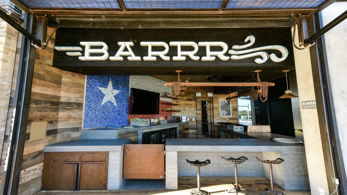 Inside Yetis Brand New TexasForever Patio Bar  Eater Austin