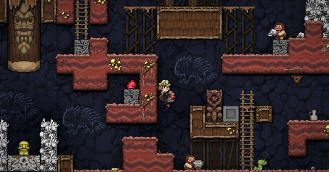 Spelunky is coming to the Switch along with other great-looking indies