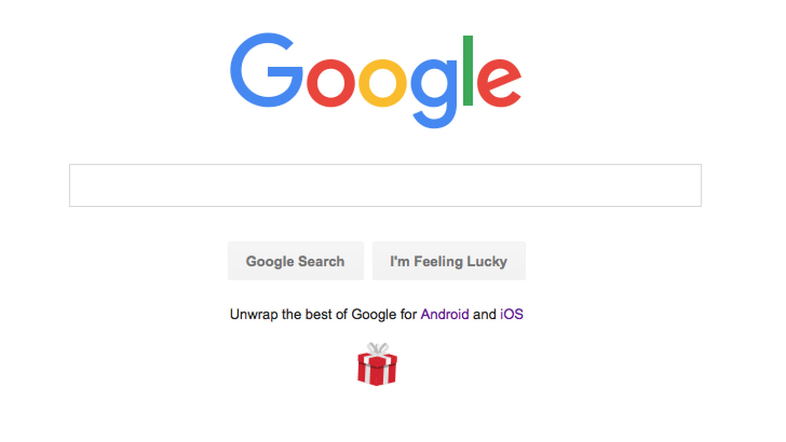 Google Uses Homepage to Pitch New Android and iPhone