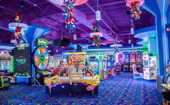 Kid Friendly Arcade City Opens At Fashion Show Eater Vegas