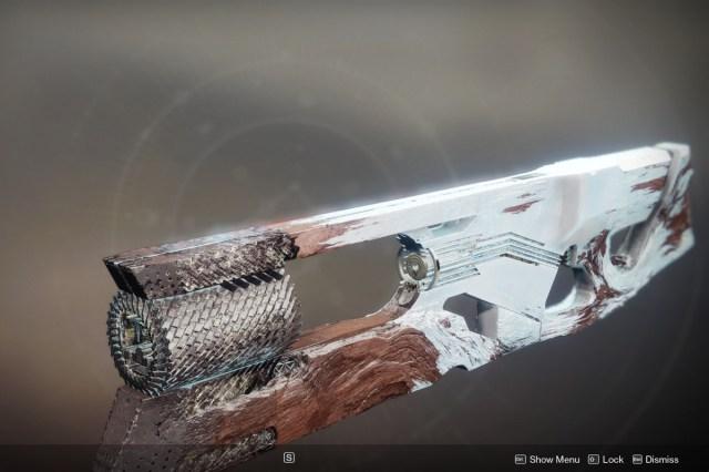 Destiny 2 Ruinous Effigy trace rifle