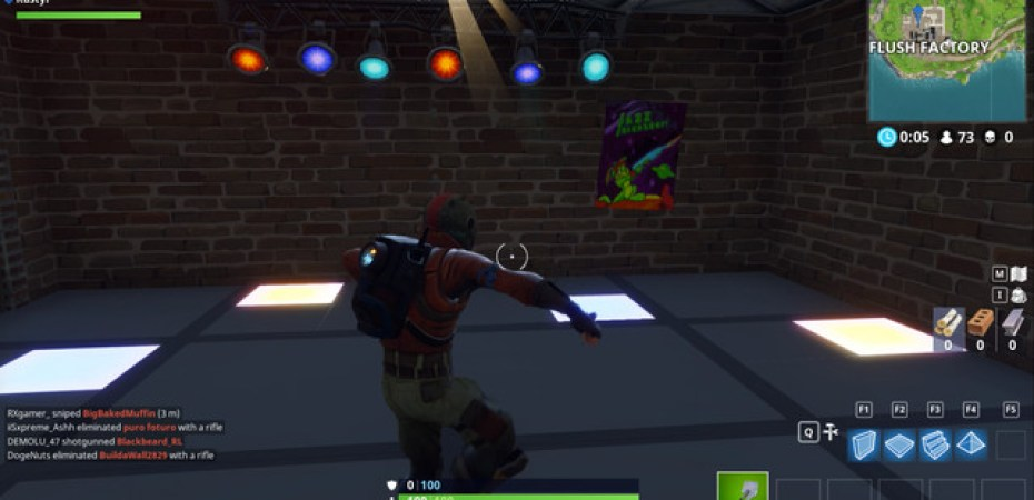 Fortnite Battle Royale Guide Dance On Different Dance Floors Weekly