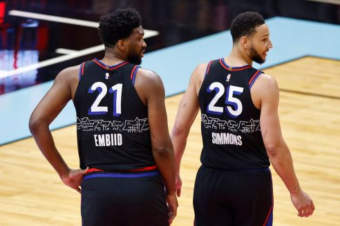 Joel Embiid comments on Ben Simmons reported trade request - Liberty Ballers