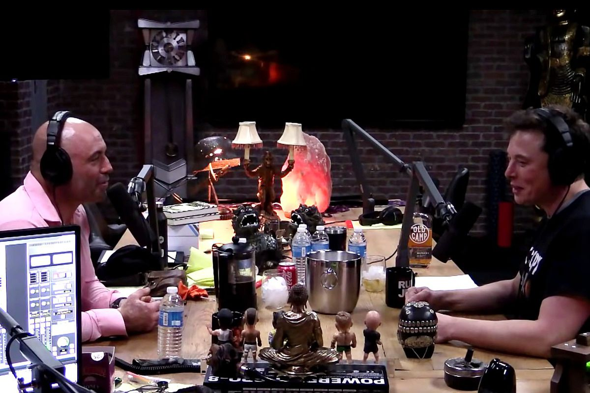 joe rogan helped create a podcast