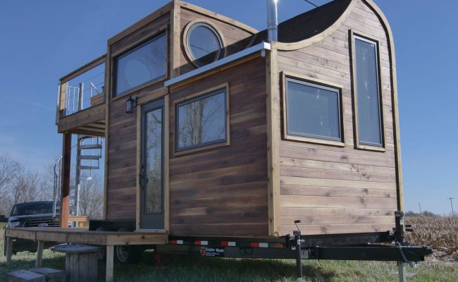 Whimsical Tiny House Is A Masterpiece Of Craftsmanship