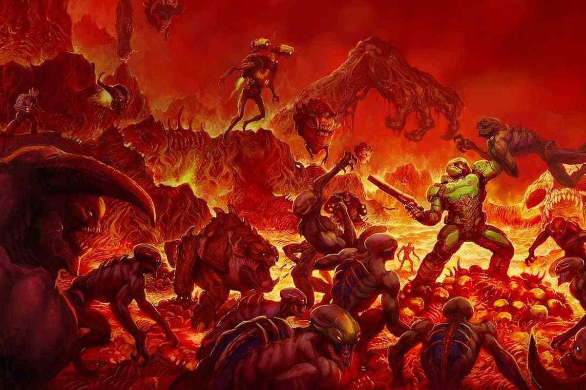 modder re creates doom