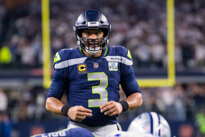 """Cowboys @ Seahawks: """"Interior pressure has, traditionally, really caused Russell Wilson headaches"""" - Blogging The Boys"""