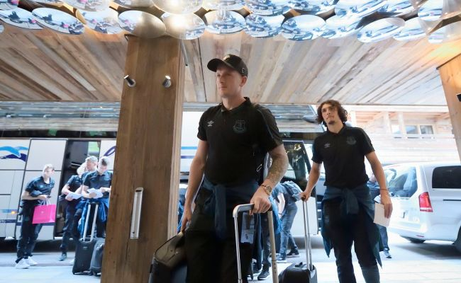 Surprise Inclusions In Everton Traveling Party To