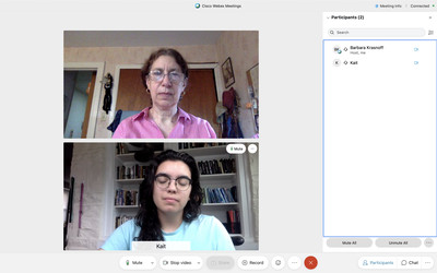 Webex, a videoconferencing app that has been around since the '90s, has a useful free version.